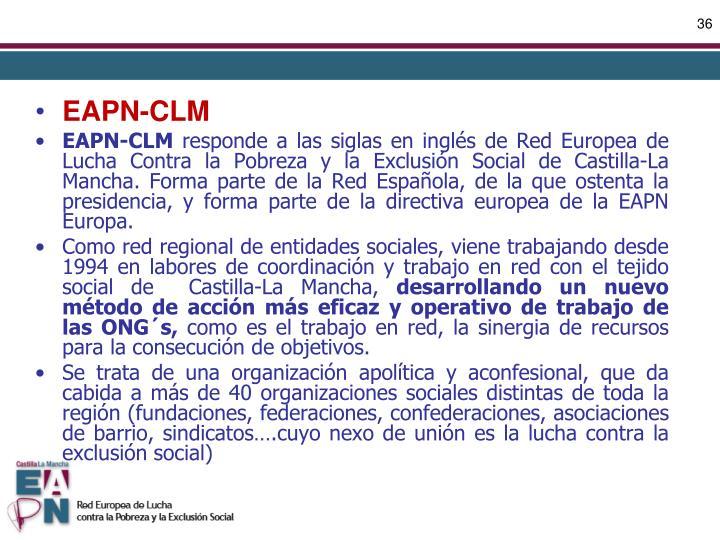 EAPN-CLM