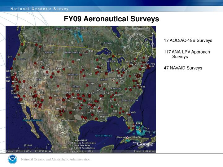 FY09 Aeronautical Surveys