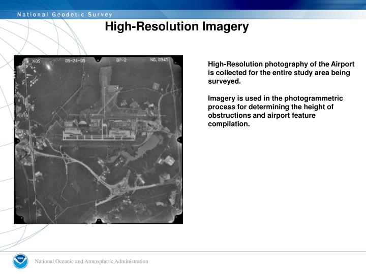 High-Resolution Imagery