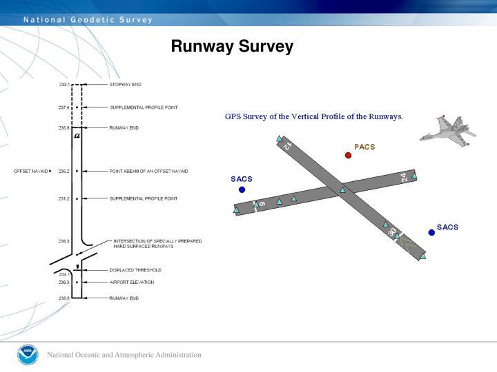 Runway Survey