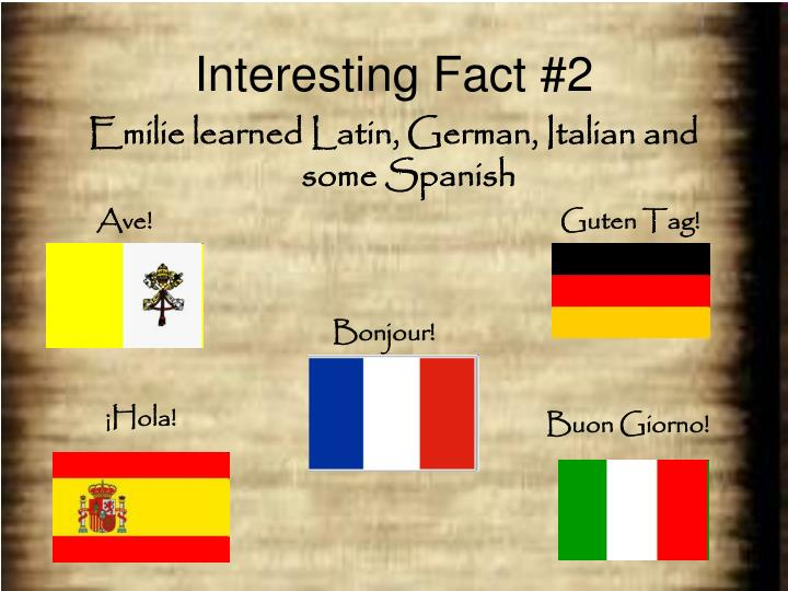Interesting Fact #2