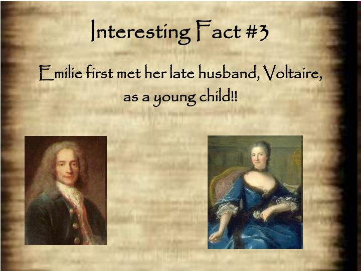 Interesting Fact #3