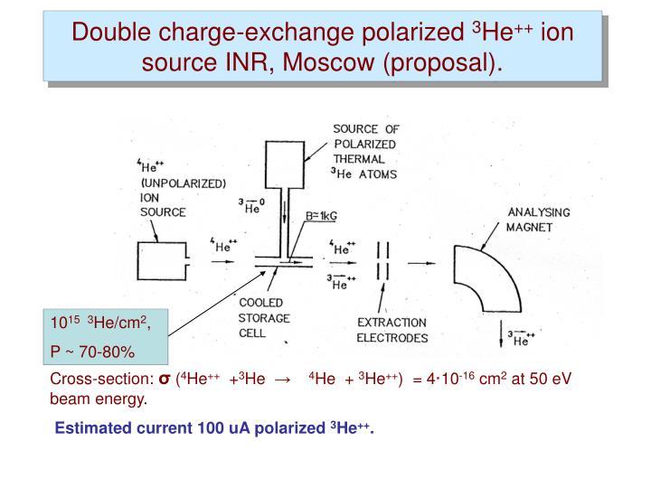 Double charge-exchange polarized
