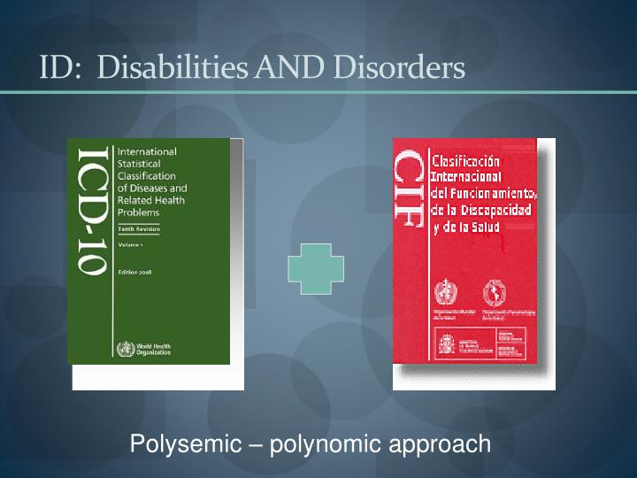 ID:  Disabilities AND Disorders