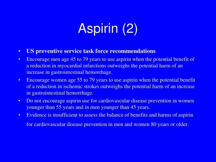 Aspirin (2)