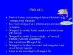 fish oils