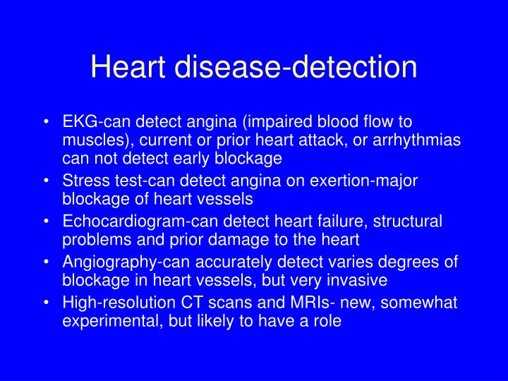 Heart disease-detection