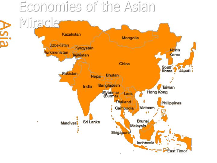 Economies of the Asian Miracle