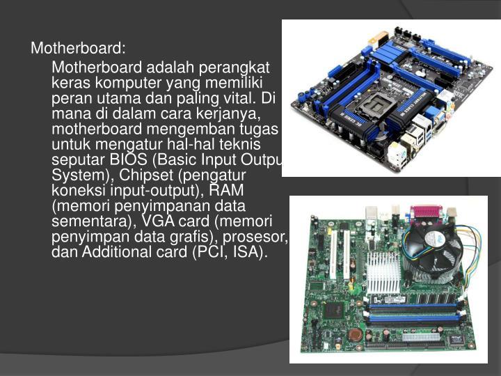 Motherboard: