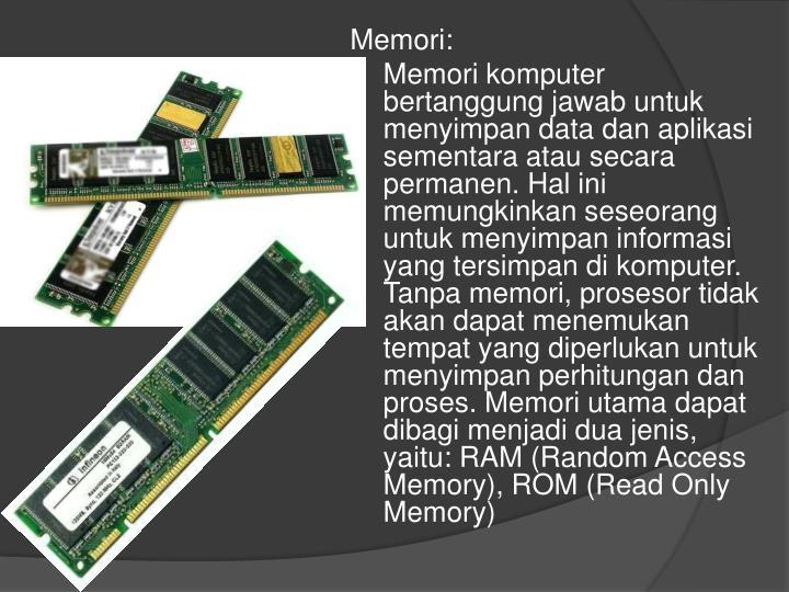 Memori: