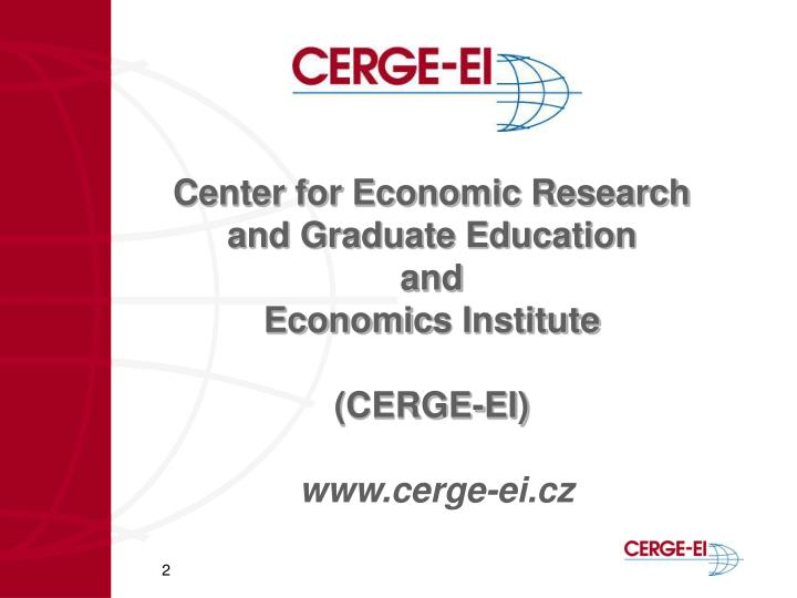 Center for Economic Research