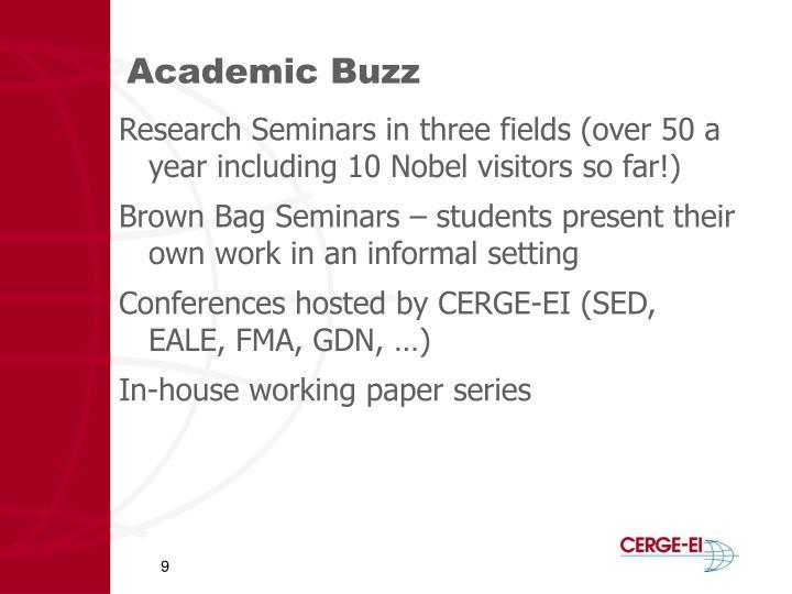 Academic Buzz
