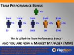 and you are now a market manager mm