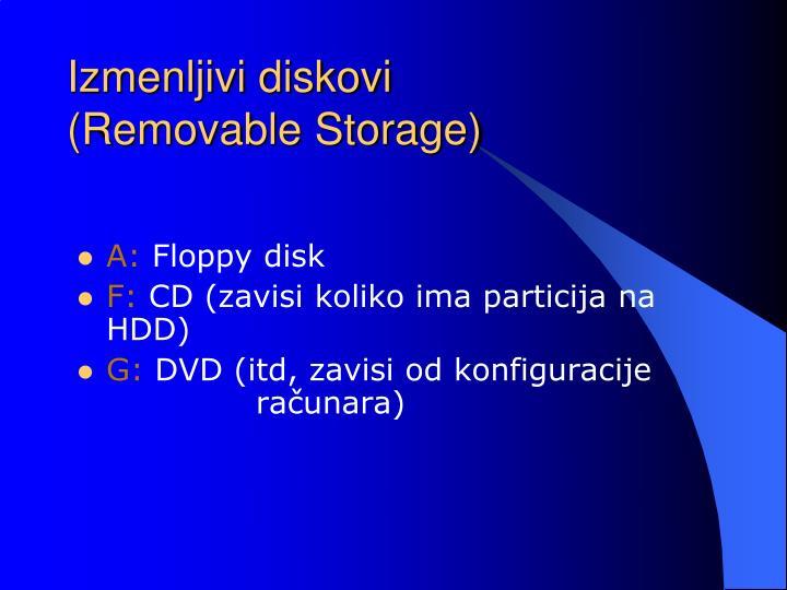 Izmenljivi diskovi