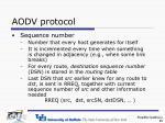 aodv protocol1
