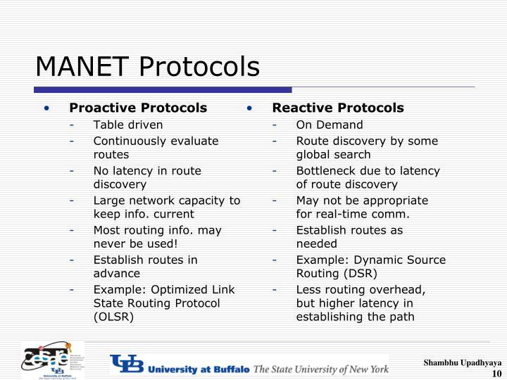 Proactive Protocols