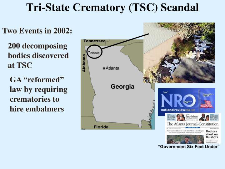 Tri-State Crematory (TSC) Scandal