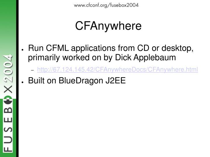 CFAnywhere