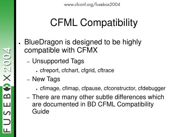 CFML Compatibility