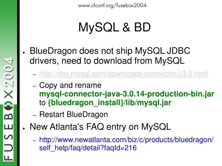 MySQL & BD