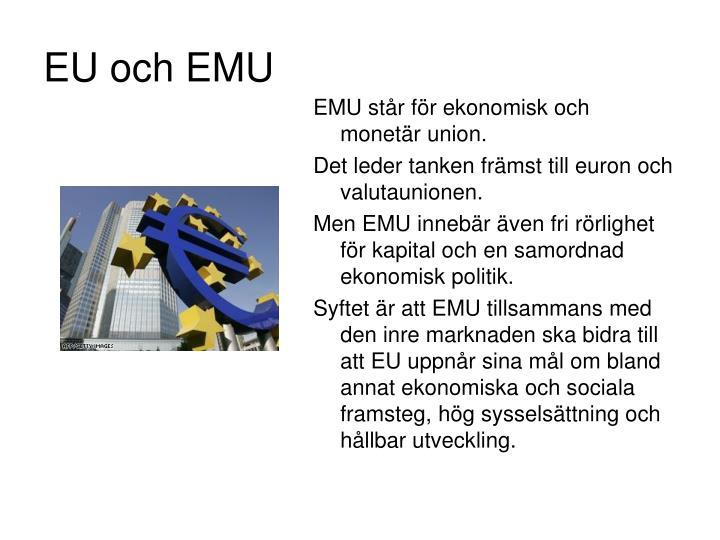EU och EMU