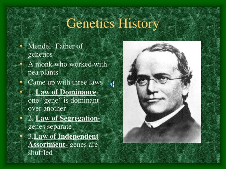 Genetics History