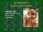scientific investigations2