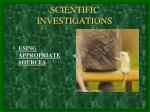 scientific investigations3