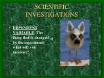 scientific investigations5