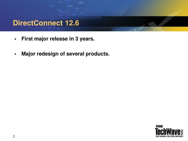 DirectConnect 12.6