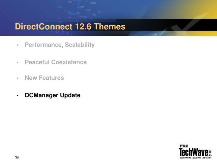 DirectConnect 12.6 Themes