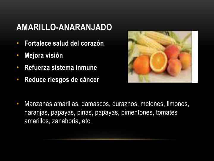 AMARILLO-ANARANJADO