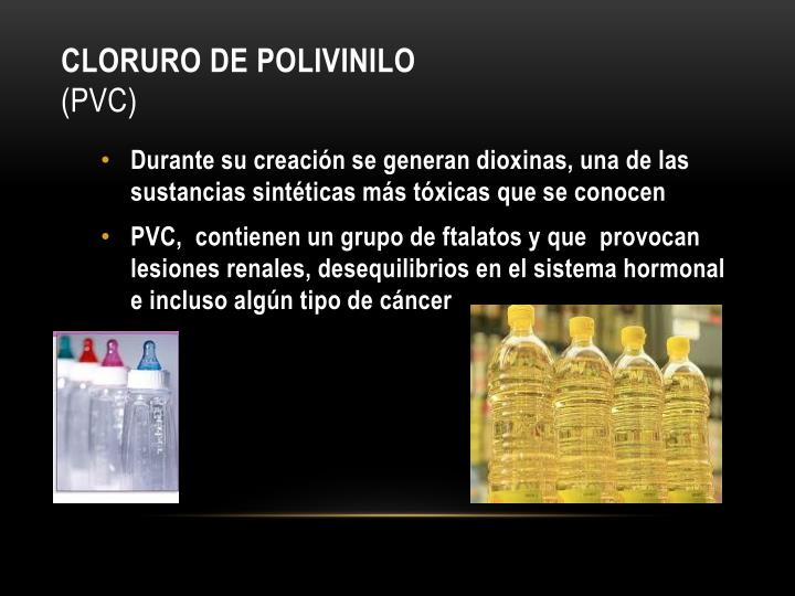 Cloruro de Polivinilo