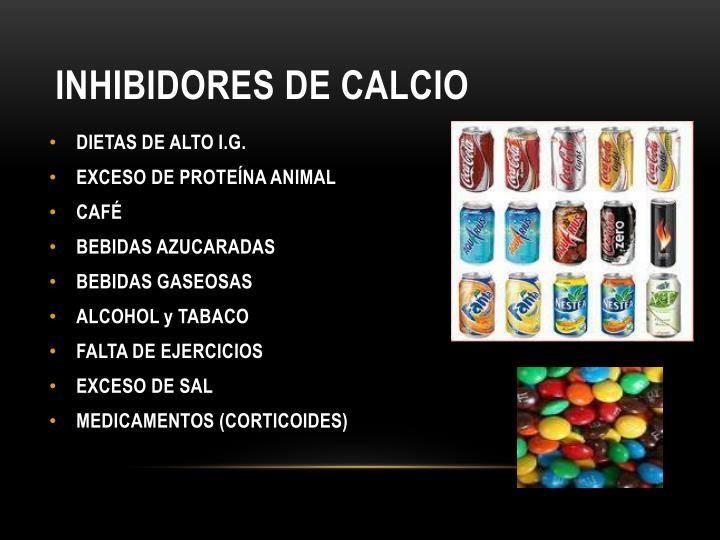 INHIBIDORES DE CALCIO