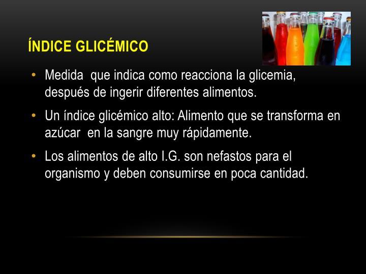 Índice Glicémico