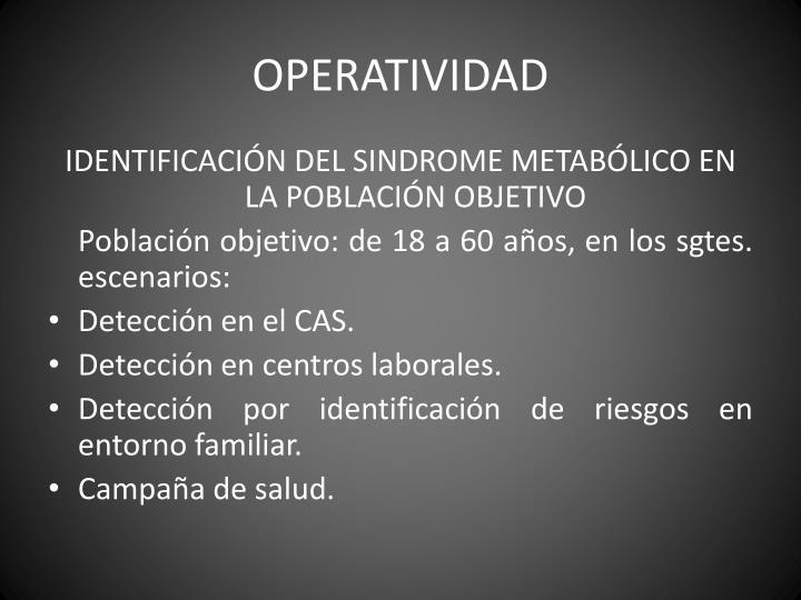 OPERATIVIDAD