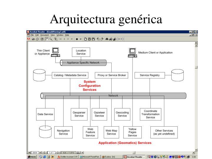 Arquitectura genérica