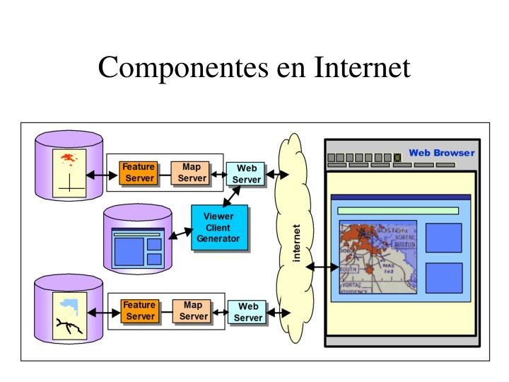 Componentes en Internet