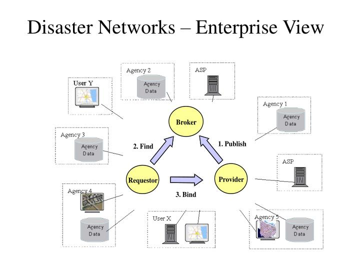 Disaster Networks – Enterprise View