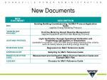 new documents