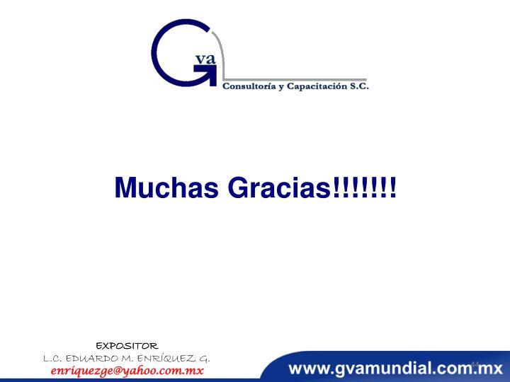Muchas Gracias!!!!!!!