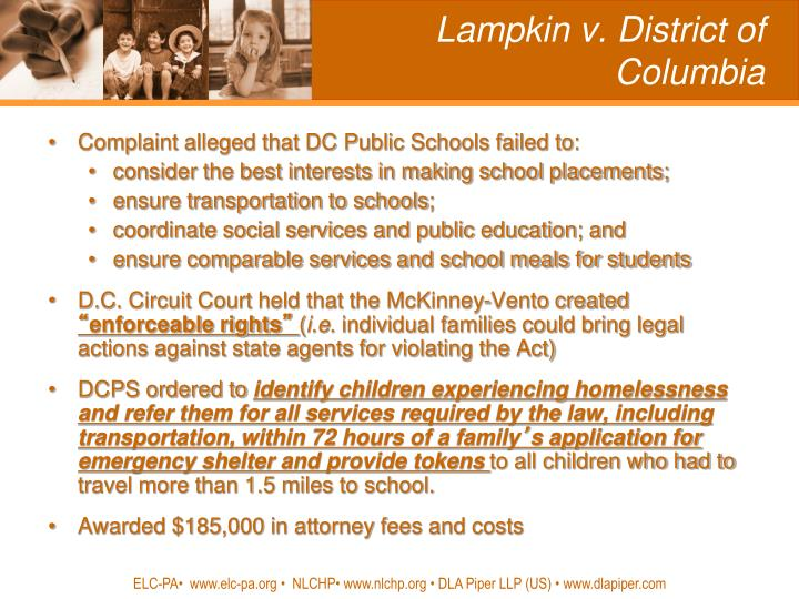 Lampkin v. District of Columbia