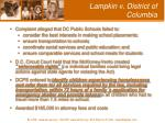lampkin v district of columbia