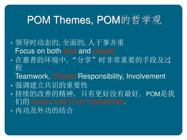 POM Themes, POM