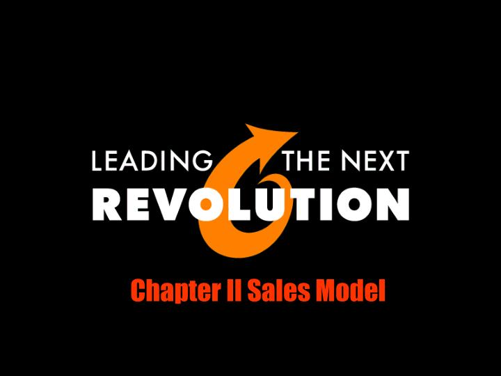 Chapter II Sales Model