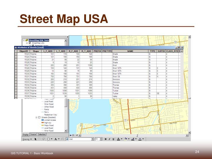 Street Map USA