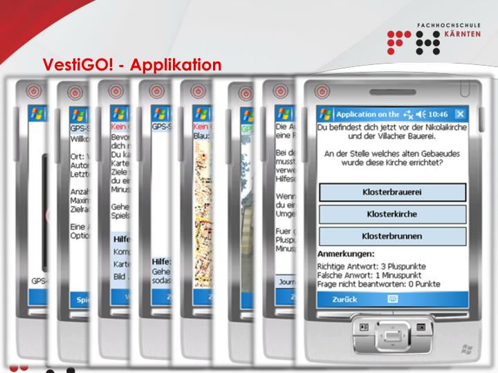 VestiGO! - Applikation