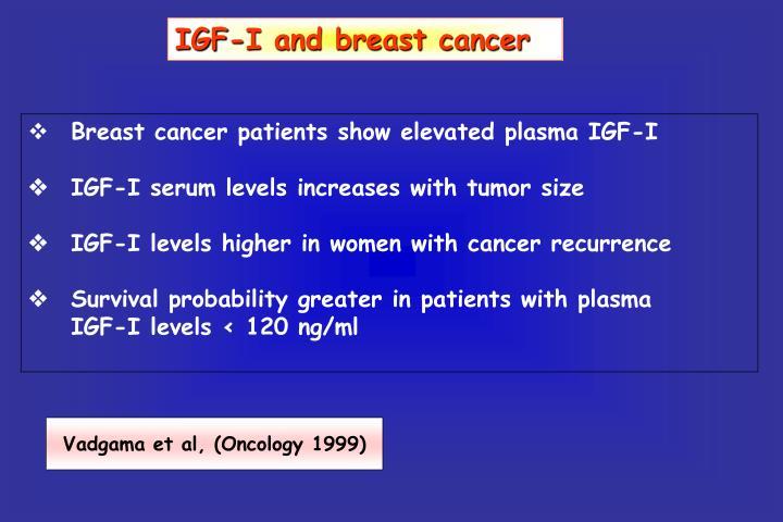 IGF-I and breast cancer