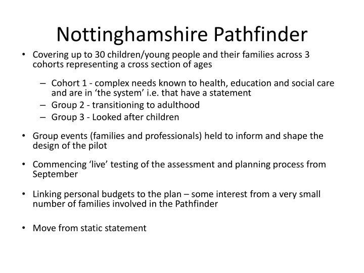 Nottinghamshire Pathfinder