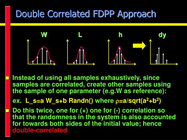 Double Correlated FDPP Approach
